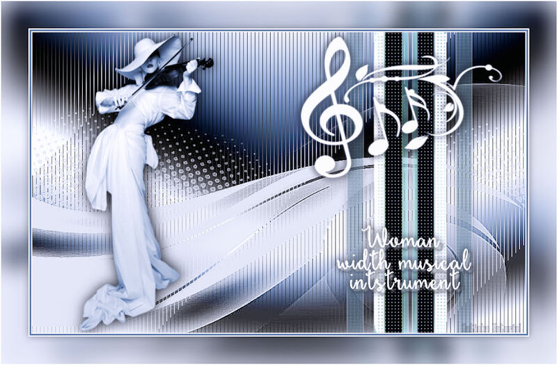 Woman width musical instrument