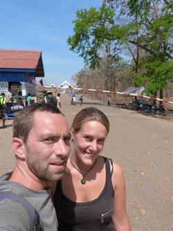 L'arrivée au Cambodge