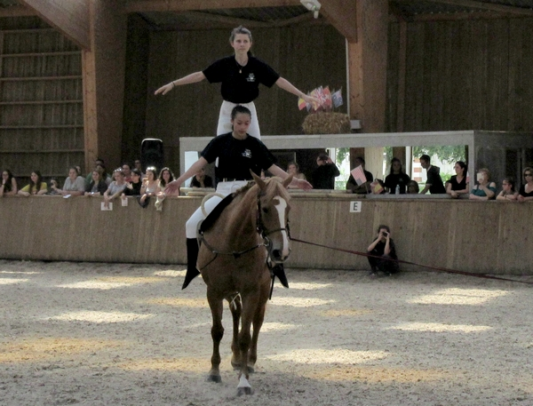 """""""Le tour du monde à cheval"""", un magnique spectacle organisé par la classe de 1ère CGEH du Lycée de La Barotte"""