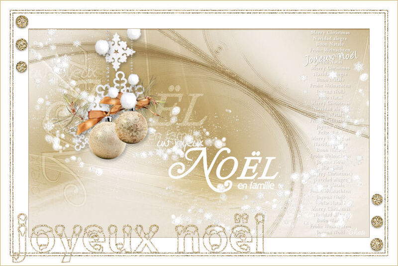 Joyeux Noel by Valy Scrap Passion