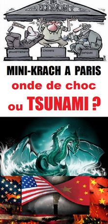 - Mini-Krach à Paris : onde de choc ou Tsunami ?