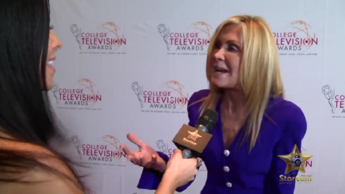 Joan Van Ark aux College Television Awards2012.