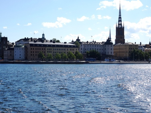 Vues de Stockholm en bâteau (photos)