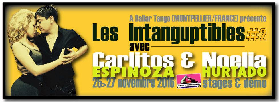 """★★ 4 INFOS """"Les INTANGUPTIBLES"""" : milongas à l'unité + nouveau stage +.... ★★"""