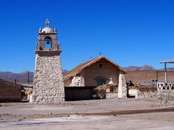 L'église de Parinacota