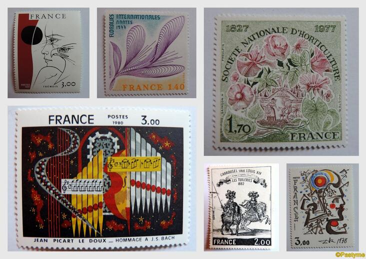 PHILATELIE......quelques timbres...