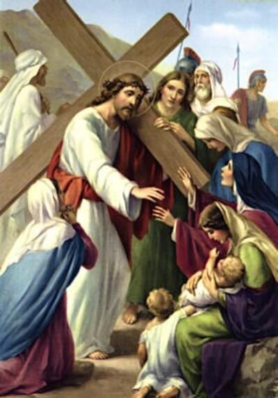 Vendredi Saint : le chemin de croix