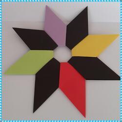 Tuto : Une couronne en origami