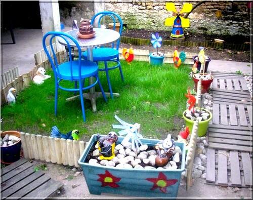 Décorations de jardins