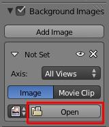 Cliquer sur le bouton Open