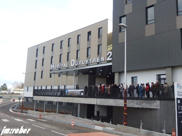 """Limoges : En route pour la visite du """"Nouveau Dupuytren 2"""""""