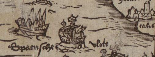 Calais - Cornelius van Hoorn, Dese korte cronikel, 1586 (kbr.be)