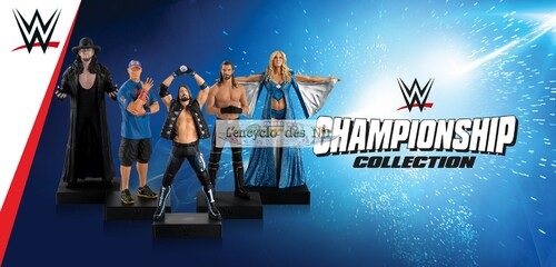 N° 1 collection WWE championship - Lancement