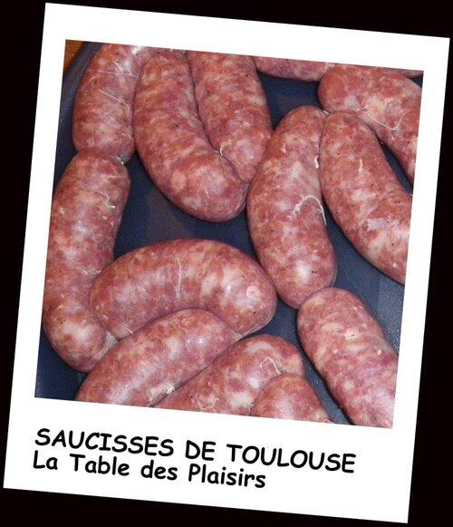 SAUCISSES DE TOULOUSE MAISON