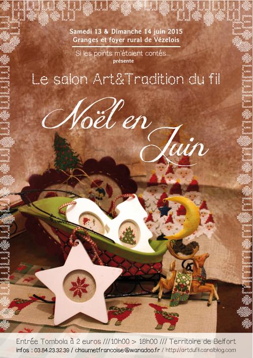 Salon broderie Vézelois Noël en Juin