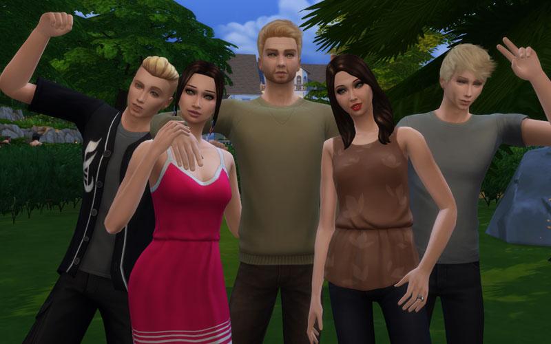 Famille Jones