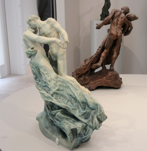 Visite du Musée de Nogent sur Seine avec l'ACC : la partie consacrée à la sculptrice Camille Claudel...