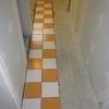 Pose carrelage de la salle de bain (8)