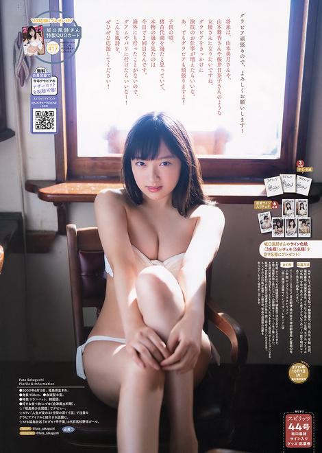 Magazine : ( [Big Comic Spirits] - 2019 / N°44 - Futa Sakaguchi Centric )