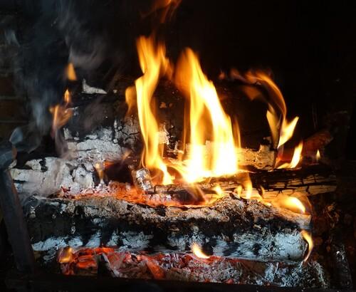 Encore un beau feu...