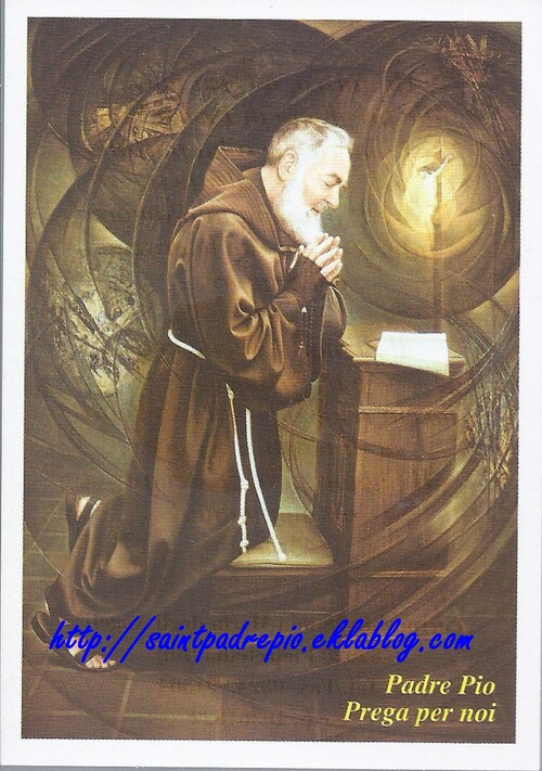 Prayer to Saint Pio of Pietrelcina (3)