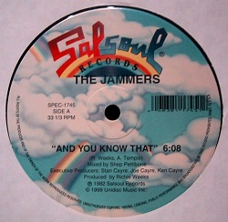 The Jammers - And You Know That