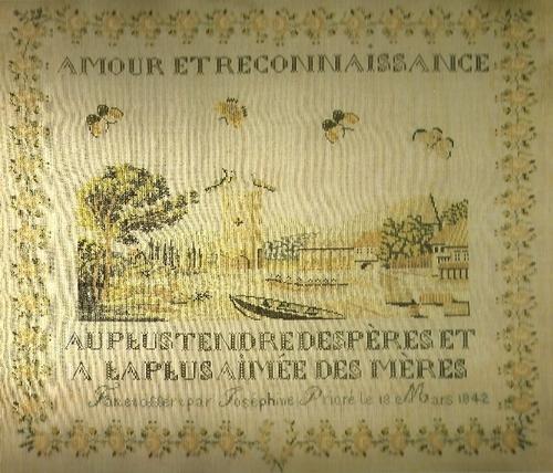 Histoire de marquoirs...