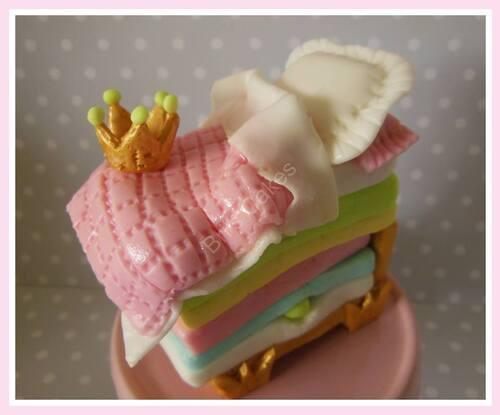 """""""B"""" comme princesse au petit pois"""