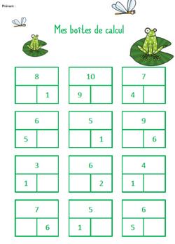 Les boîtes à calcul