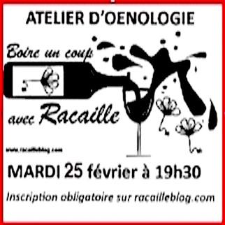 25 février : Atelier d'œnologie