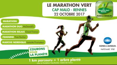 Marathon Vert Rennes - Dimanche 22 octobre 2017