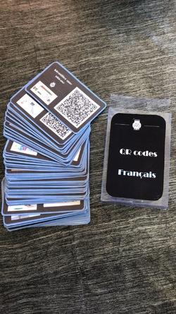 ~ Cartes QR Code ~