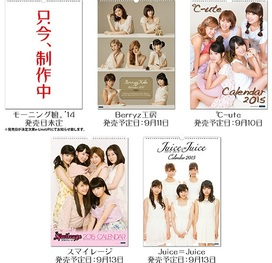 Calendriers 2014 du Hello!Project