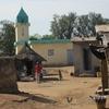 Côte d'Ivoire Village sur piste du Nord