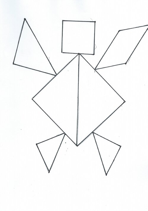 Fiches contours tangrams
