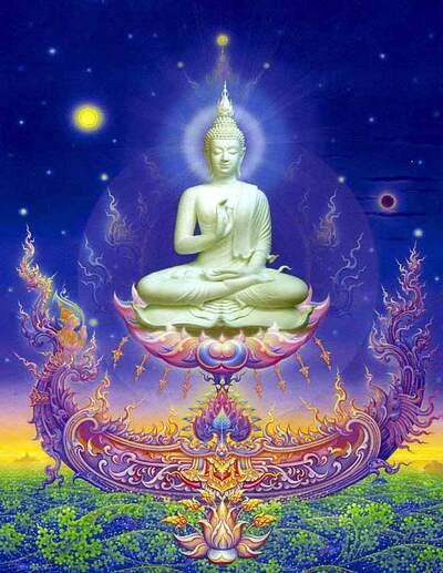 Bouddha céleste
