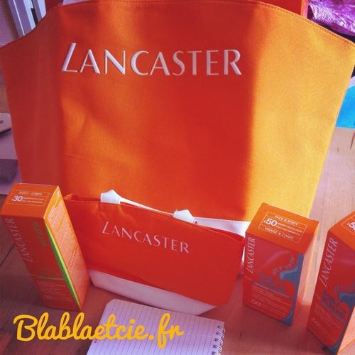 Notre nouvelle crème solaire Lacanster...