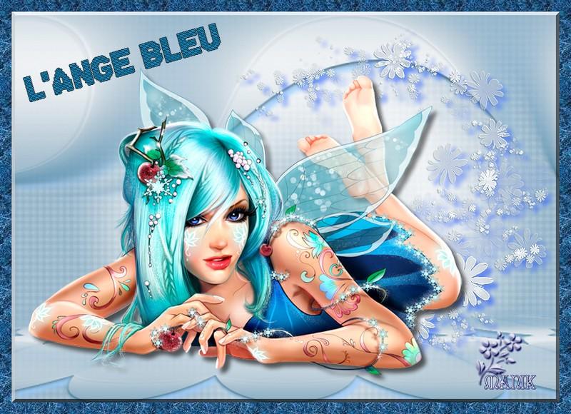 Défi pour Beauty , L'ange bleu ;