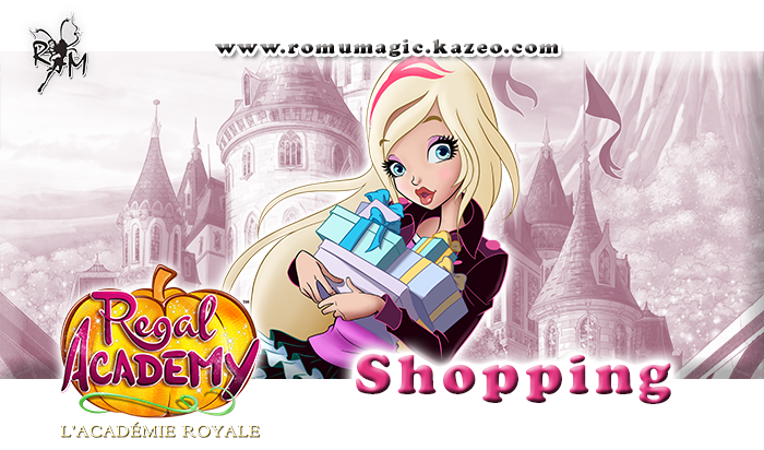 Regal Academy - Shopping