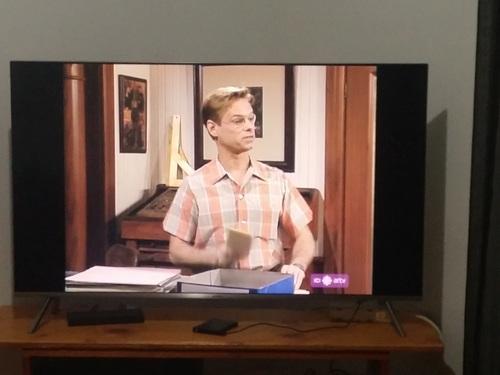 Sur ta télé HD un affichage 4-3 affichez plein écran