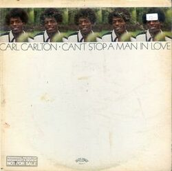 Carl Carlton - You Can't Stop A Man In Love - Complete LP