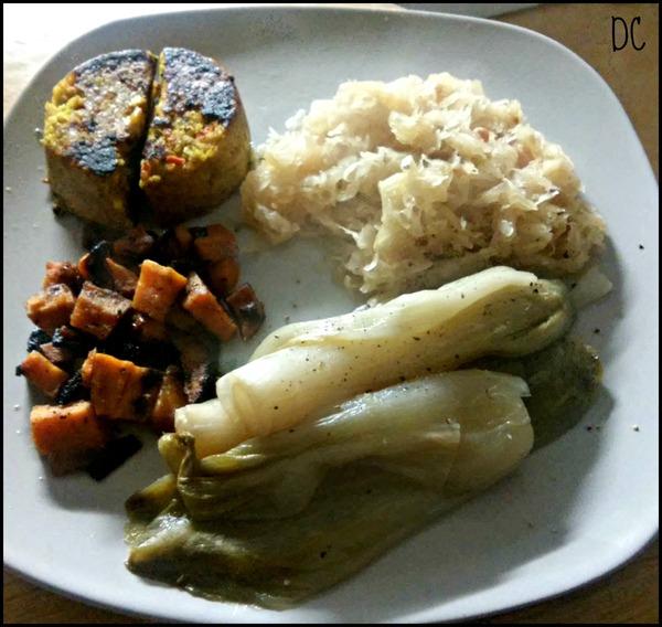 Assiette Végétarienne du soir avec Bjorg