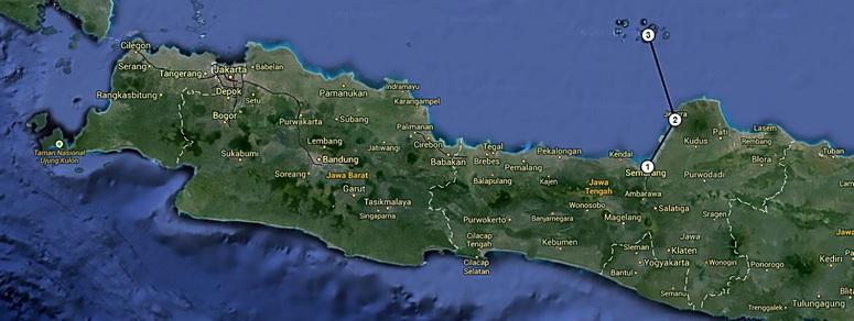 18 Juillet 2014 - Arrivée mouvementée sur les îles Kalimunjawa