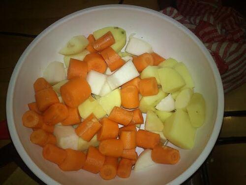Potée Végétarienne...ou un plat de mon enfance revisitée {Vegan}