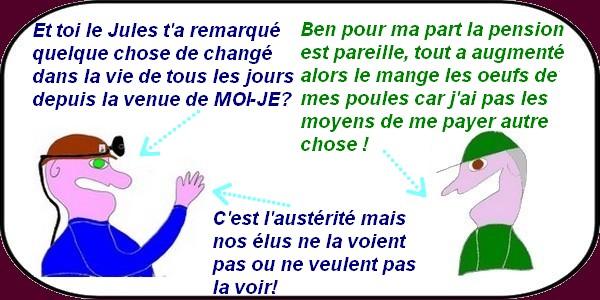 La France va tellement bien qu'on s'enfonce dans l'austérité sans s'en apercevoir!