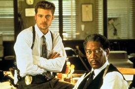 Brad Pitt et Morgan Freeman