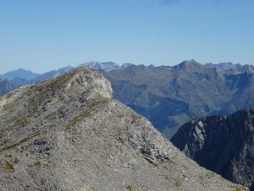 Pic d'Anie (2504m) vu des crêtes d'Añelarra
