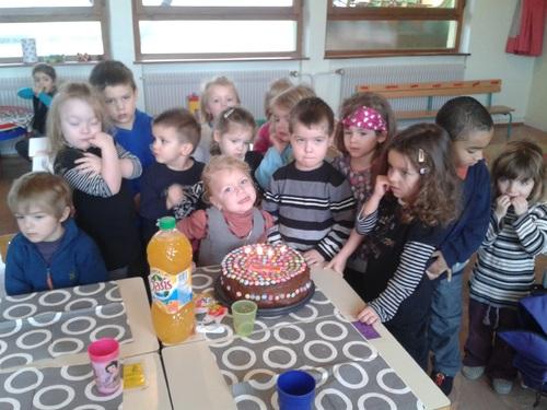 Maëly  a 4 ans!