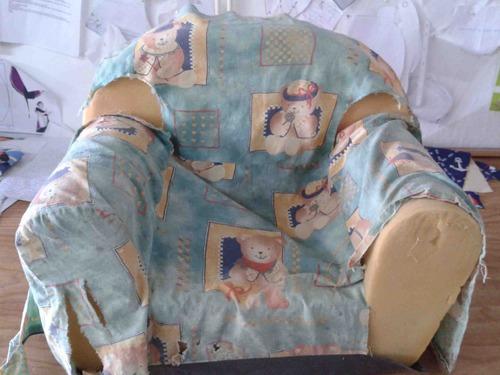 fauteuil d'artiste en herbe