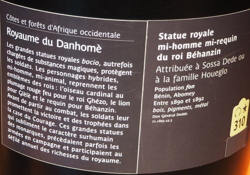 Musée du Quai Branly. Jacques Chirac. 2
